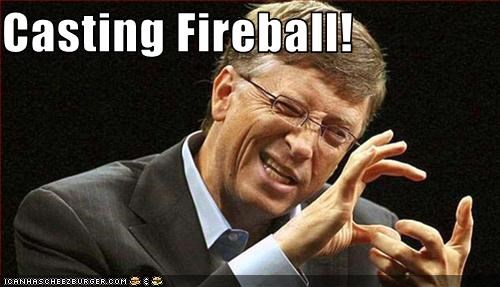 Bill Gates fireball microsoft wtf - 3345232640