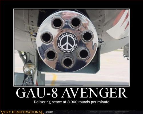 demotivational guns modern planes Pure Awesome Terrifying war - 3345847808