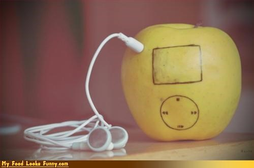 apple,fruits-veggies,ipod