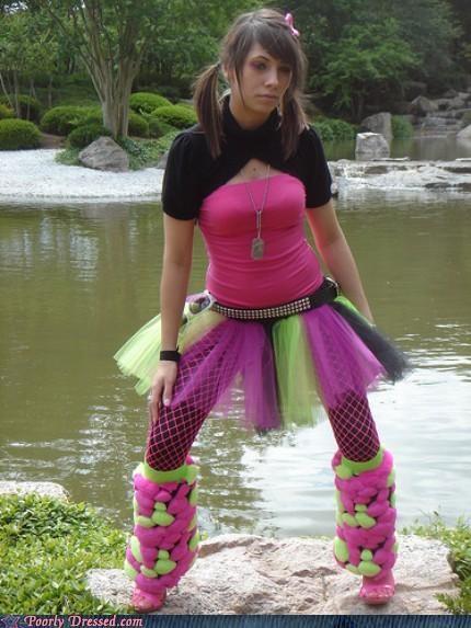 punk neon raver - 3348280576
