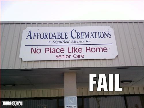 cremation failboat nursing home old folks sad face - 3348776448