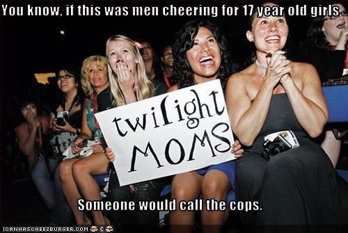fangirls gross inappropriate pedobear twilight twilight moms - 3348984576