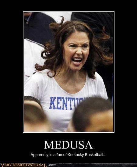 MEDUSA Apparenly is a fan of Kentucky Basketball...