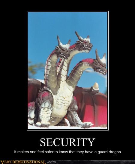 dragon scary security - 3350093312