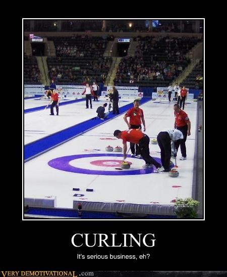 serious business sports curling