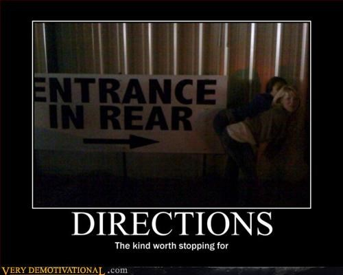 babes,demotivational,Pure Awesome,rear entrance,signs