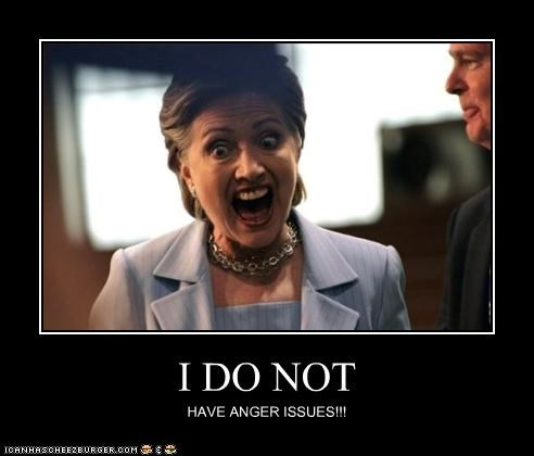 anger,Hillary Clinton,secretary of state