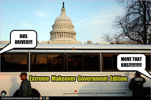 bus,extreme makeover,reality tv,US capitol building