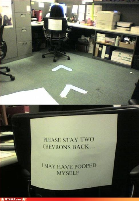 basic instructions boredom creativity in the workplace cubicle boredom cubicle prank dickhead co-workers dickheads doody fart beast groagan gross mess paper signs passive aggressive poop prank pwned Sad sass signage sneaky stinky cubicle Terrifying wiseass