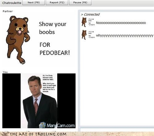 abort Chat Roulette Chris Hansen have a seat pedobear - 3353456128
