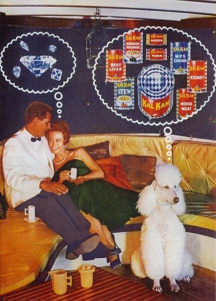 vintage dog food ads