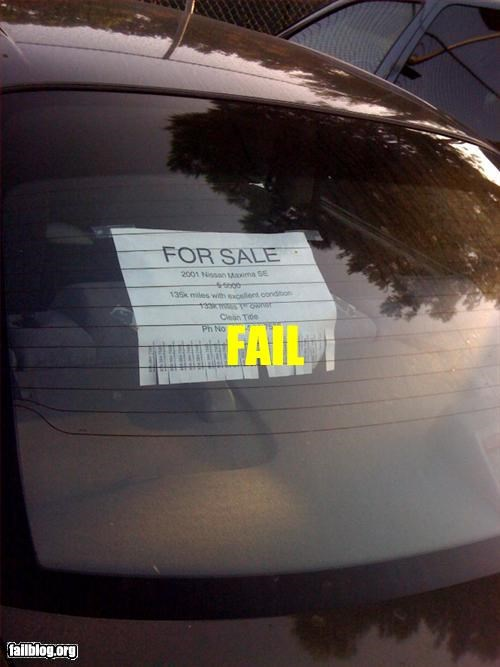 car,failboat,for sale,take one