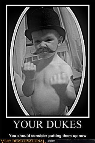 fisticuffs,mustache,kid