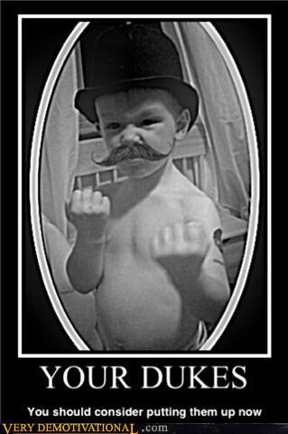 fisticuffs mustache kid - 3356482560