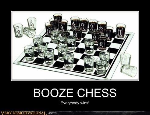 thinking,drinking game,chess