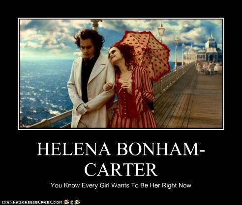 HELENA BONHAM-CARTER You Know Every Girl Wants To Be Her Right Now