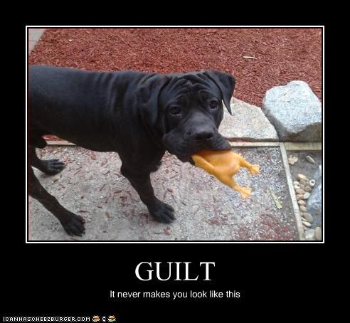 GUILT It never makes you look like this