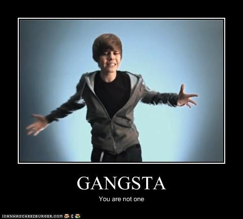 singers,gangster,gross,justin bieber,tween