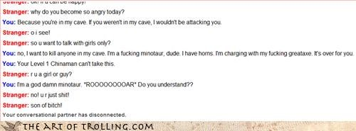 cave fight horny minotaur - 3362754560