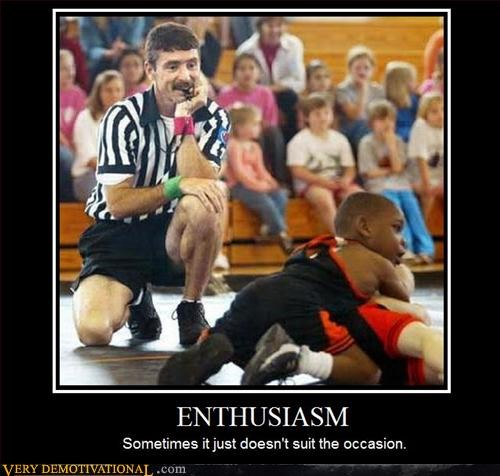creepy demotivational enthusiasm mustache nambla Sad wrestling
