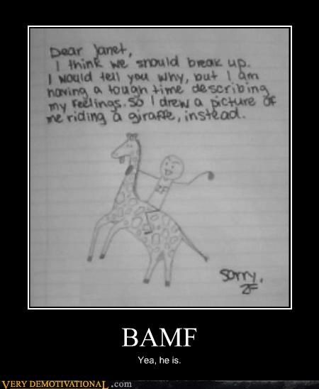 art BAMF demotivational drawing hilarious not batman relationships - 3363296512