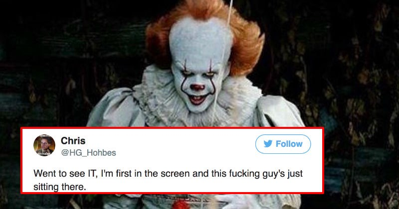 "Guy goes to see ""It"" in theaters and happens upon a terrible surprise."
