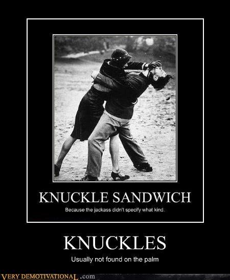 anatomy knuckle sandwich wtf - 3364483840