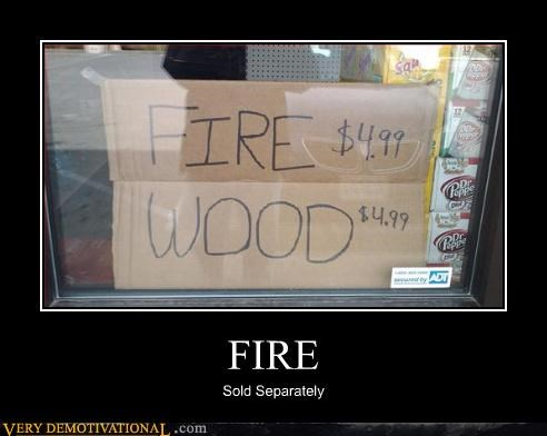 sign,idiots,fire wood