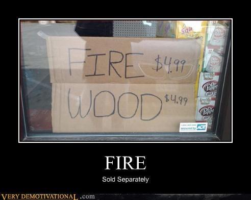 sign idiots fire wood - 3365038080