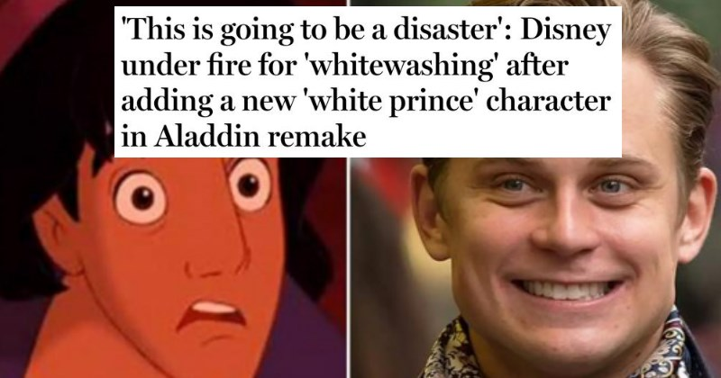 Imgur User Explains the Absurdity of 'Whitewashing' Claims in the New Aladdin Film