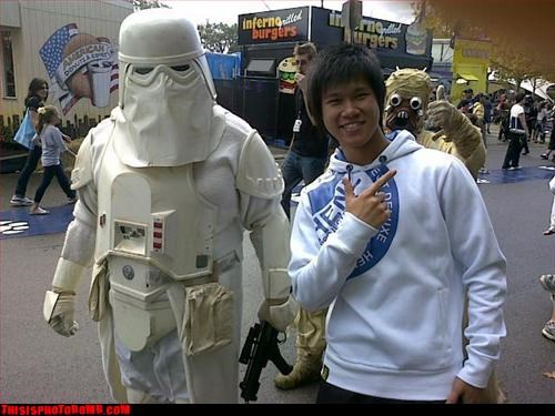 awesome,nerds,Snowtrooper,star wars,Tusken Raider