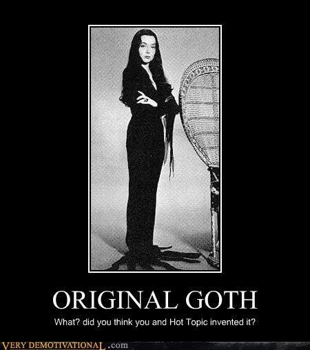 goth original gangster Morticia Addams - 3367733248