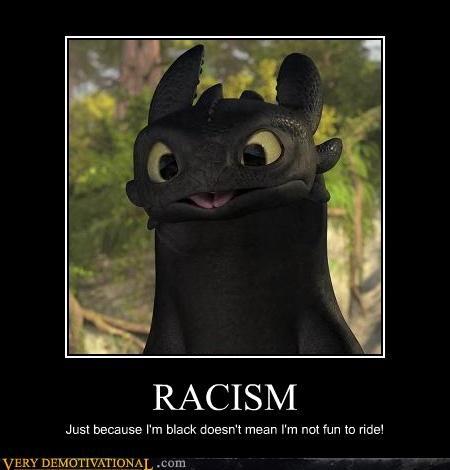 dragon,racism,wtf
