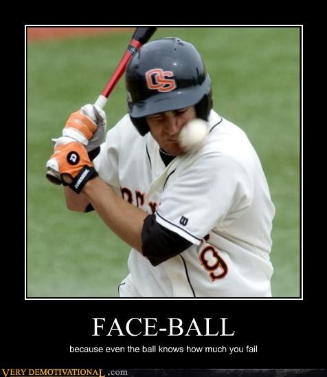 ouch wtf facepalm baseball - 3372999424