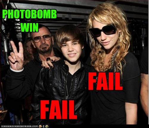 FAIL FAIL PHOTOBOMB WIN