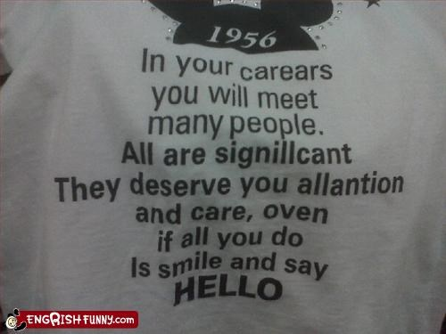care oven people phonetic shirt slogan
