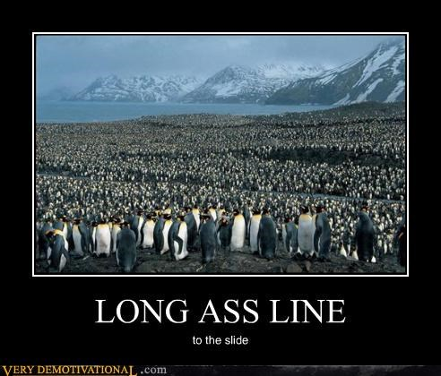demotivational hilarious north penguins Sad - 3374177024