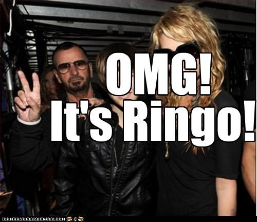 OMG! It's Ringo!