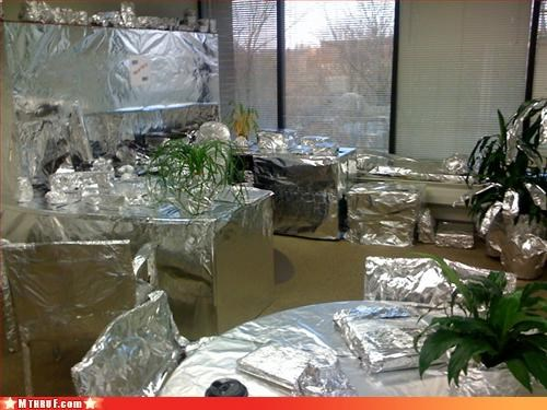 april foil prank tin foil - 3375896832