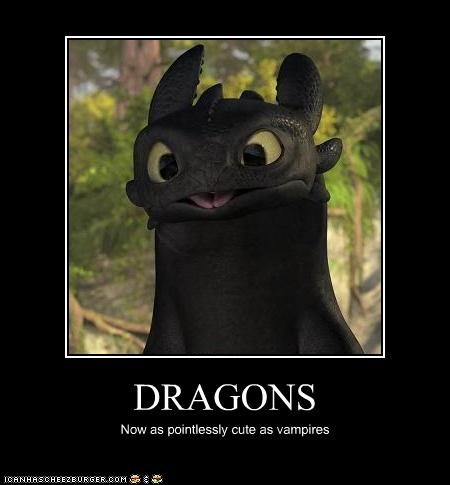 cgi cute How to train your dragon movies toothless twilight vampires - 3376225280
