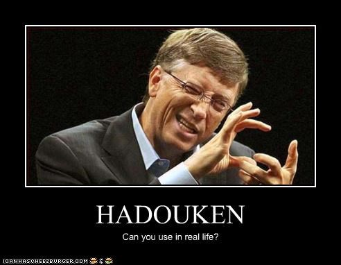 HADOUKEN Can you use in real life?