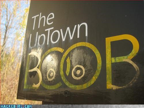 boob loop park sign - 3381583360