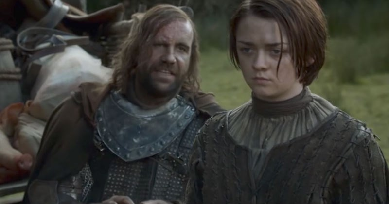 Video of Game of Thrones supercut shows all the times the Hound character swears during the show.