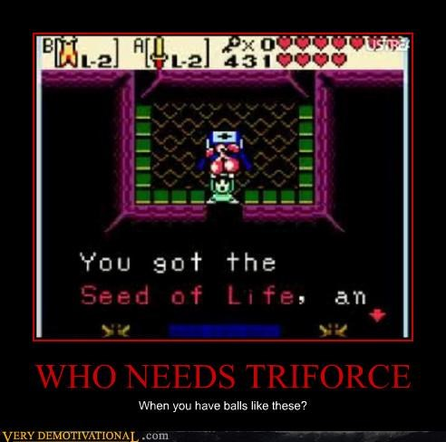 balls balls of steel hilarious link questions triforce Videogames zelda
