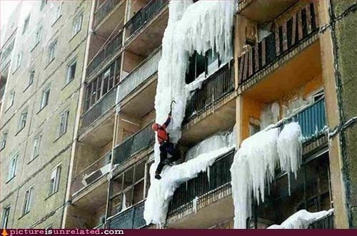 climbing extreme sports ice the world is ending wtf - 3384811520