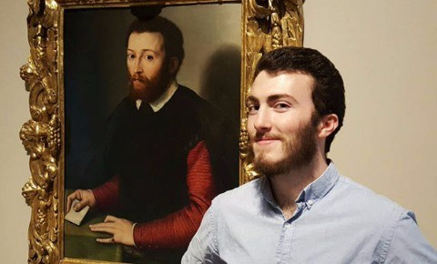 a funny list of people finding a person that looks like them in old paintings