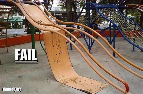 child failboat g rated playground slide - 3385754112