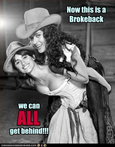 Now this is a Brokeback we can ALL get behind!!!