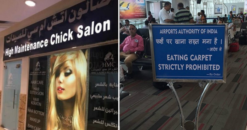 Hilarious Times That Translations Failed Miserably