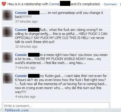 crazy deal breaker drama girls are nuts relationship status